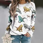 Iguanas Of The World Unisex All Over Print Cotton Sweatshirt KH020203
