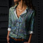 Whale Cotton And Linen Casual Shirt CH030208