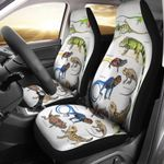 Green Anole, Forest Iguana - Lizard - Reptile Car Seat Cover KH250110