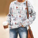 Nobody Fights Alone Nurse Unisex All Over Print Cotton Sweatshirt KH030206