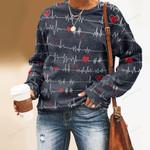 Nobody Fights Alone Nurse Unisex All Over Print Cotton Sweatshirt KH030207