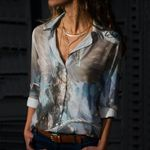 Dragon Cotton And Linen Casual Shirt CH040208