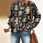 Lucky Tattoo Sailor - Nautical - Marine Life Unisex All Over Print Cotton Sweatshirt KH040203