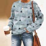 Nobody Fights Alone Nurse Unisex All Over Print Cotton Sweatshirt KH040207