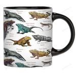 Iguanas Of The World - Lizard - Reptile Mug KH020203