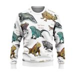 Iguanas Of The World - Lizard - Reptile Ugly Sweaters KH020203