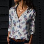 Octopus - Marine Life Cotton And Linen Casual Shirt KH040212