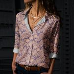 Skull Cotton And Linen Casual Shirt CH040231