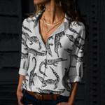 Crocodiles Cotton And Linen Casual Shirt QA050202
