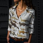 Otters Cotton And Linen Casual Shirt QA050208