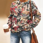 Day Of The Dead Unisex All Over Print Cotton Sweatshirt KH050212
