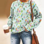 Parrot - Birdwatching - Birds Unisex All Over Print Cotton Sweatshirt KH050216