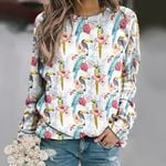 Parrot - Birdwatching - Birds Unisex All Over Print Cotton Sweatshirt KH050220