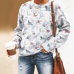 Birdwatching - Birds Unisex All Over Print Cotton Sweatshirt KH050221