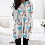 Parrot - Birdwatching - Birds Pocket Long Top Women Blouse KH050214