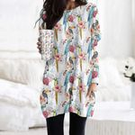 Parrot - Birdwatching - Birds Pocket Long Top Women Blouse KH050220