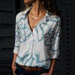 Octopus Cotton And Linen Casual Shirt QA170207