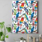 Parrot - Birdwatching - Birds Canvas Prints Type A KH050219