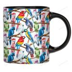 Parrot - Birdwatching - Birds Mug KH050219