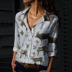 Caribou Cotton And Linen Casual Shirt QA180203