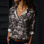 Skull Cotton And Linen Casual Shirt CH180210