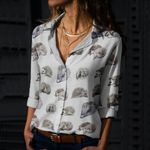 Hedgehog Cotton And Linen Casual Shirt QA190201