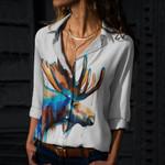 Moose Cotton And Linen Casual Shirt QA190202