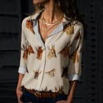 Klipspringer, Dik Dik - Antelope Cotton And Linen Casual Shirt QA190206