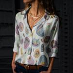 Succulents - Cactus - Cacti Cotton And Linen Casual Shirt KH190202