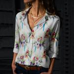 Parrot - Birdwatching - Birds Cotton And Linen Casual Shirt KH190207