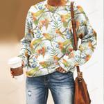 Parrot - Birdwatching - Birds Unisex All Over Print Cotton Sweatshirt KH190212