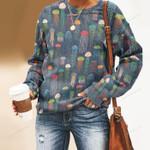 Jellyfish - Marine Life Unisex All Over Print Cotton Sweatshirt KH230202