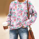 Jellyfish - Marine Life Unisex All Over Print Cotton Sweatshirt KH230209