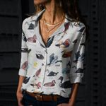 Floaters Cotton And Linen Casual Shirt QA240202