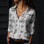 Koala Cotton And Linen Casual Shirt QA240211