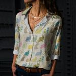 Bunny - Easter Cotton And Linen Casual Shirt KH240206