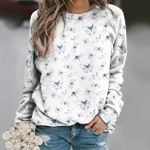 Butterfly - Insect Unisex All Over Print Cotton Sweatshirt KH260211