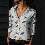 Boobies - Birdwatching Cotton And Linen Casual Shirt QA01032101