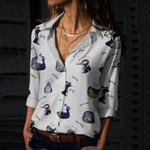 Bird Puns Cotton And Linen Casual Shirt QA01032103