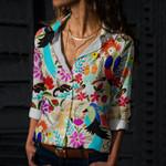 Chiapas Mexican Art Cotton And Linen Casual Shirt QA01032107