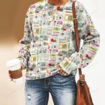 Superfood - Gardening Unisex All Over Print Cotton Sweatshirt KH01032105