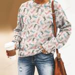 Rain Boots Unisex All Over Print Cotton Sweatshirt KH01032107