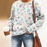 Rain Boots - Gardening Unisex All Over Print Cotton Sweatshirt KH01032109