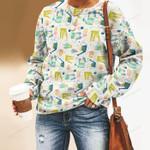 Window Garden Unisex All Over Print Cotton Sweatshirt KH01032112