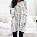 Rain Boots - Gardening Pocket Long Top Women Blouse KH01032109