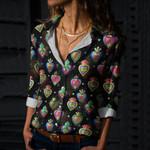 Sacred Heart Cotton And Linen Casual Shirt QA02032107