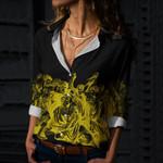 Julius Caesar Cotton And Linen Casual Shirt CH08032109