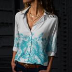 Julius Caesar Cotton And Linen Casual Shirt CH08032110
