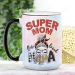 Mother's Day Gift - Super Mom Ceramic Mug CH15032101