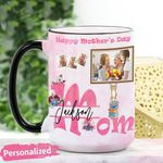 Mother's Day Gift - Happy Mother's Day Personalized Ceramic Mug CHBM15032102